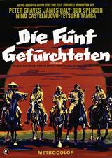 Die fünf Gefürchteten - Poster