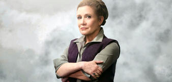 Carrie Fisher als Leia Organa