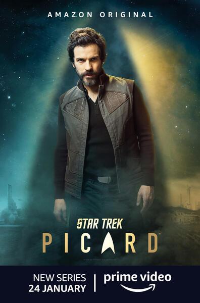 Star Trek: Picard, Star Trek: Picard - Staffel 1 mit Santiago Cabrera