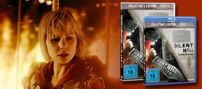 Die Silent Hill Collection gibt es ab sofort auf DVD und BD zu kaufen.