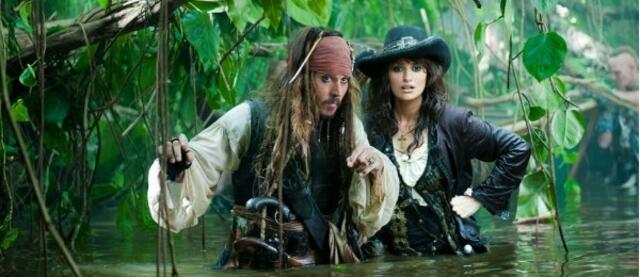 Johnny Depp und Penélope Cruz in Fluch der Karibik 4