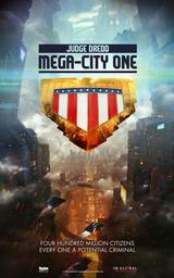 Judge Dredd: Mega City One - Poster