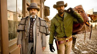 Dr. King Schultz (Christoph Waltz) und Django (Jamie Foxx)