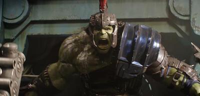 Hulk in Thor 3: Ragnarok