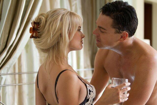 The Wolf of Wall Street mit Leonardo DiCaprio und Margot Robbie