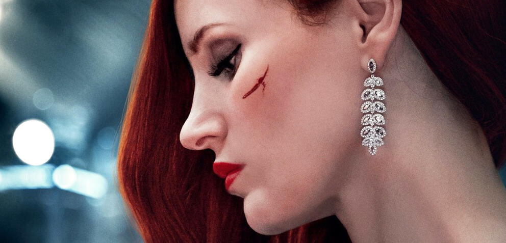 Jessica Chastain in Ava