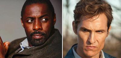 Idris Elba in Luther und Matthew McConaughey in True Detective