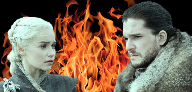 Daenerys Targaryen und Jon Snow in Game of Thrones