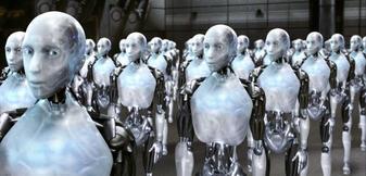 Gefahr der Zukunft? Alan Tudyk als Roboter in I, Robot