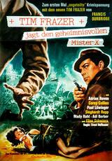 Tim Frazer jagt den geheimnisvollen Mr. X - Poster