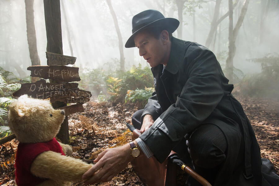 Christopher Robin  mit Ewan McGregor