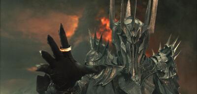 Der Maia Sauron ist nur ein Diener des Bösen