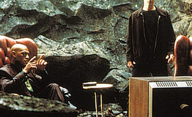 Matrix mit Keanu Reeves und Laurence Fishburne - Bild 4