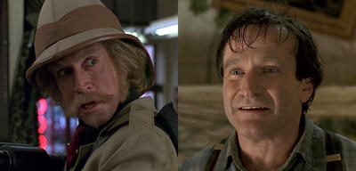Jonathan Hyde und Robin Williams in Jumanji