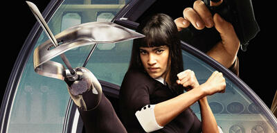 Sofia Boutella als Gazelle in Kingsman
