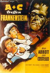 Abbott und Costello treffen Frankenstein - Poster