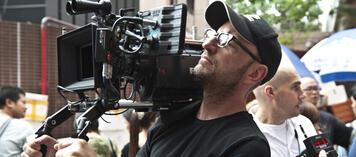 Steven Soderbergh am Set von Contagion