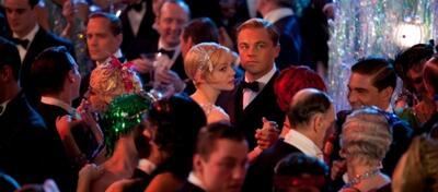 Techno Party in Der Große Gatsby