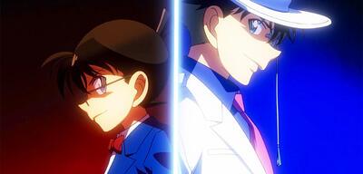 Conan und Kaito Kid