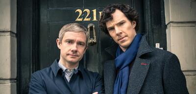 Not amused: Watson und Sherlock