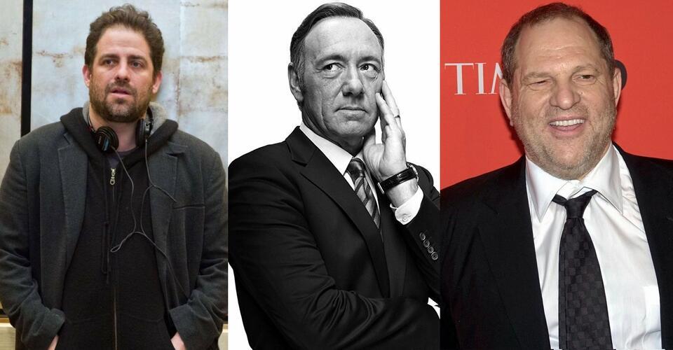 Brett Ratner, Kevin Spacey, Harvey Weinstein