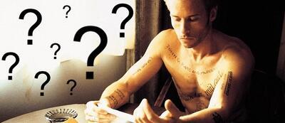 Guy Pearce kann sich in Memento nicht erinnern