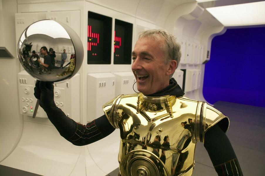 Anthony Daniels in Star Wars III - Die Rache der Sith