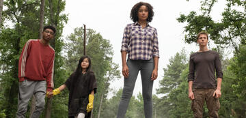 The Darkest Minds: Chubs, Zu, Ruby, Liam
