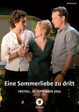 Eine Sommerliebe zu Dritt - Poster