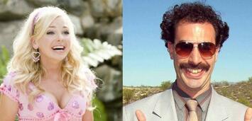 Bild zu:  Anna Faris in House Bunny und Sacha Baron Cohen als Borat