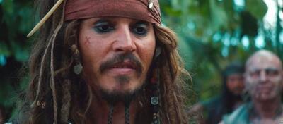 Johnny Depp in Fluch der Karibik 4