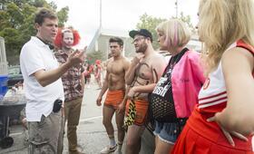 Bad Neighbors 2 mit Seth Rogen, Zac Efron und Nicholas Stoller - Bild 6