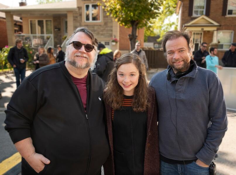 Scary Stories to Tell in the Dark mit Guillermo del Toro, André Øvredal und Zoe Margaret Colletti