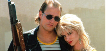 Woody Harrelson und Juliette Lewis in Natural Born Killers
