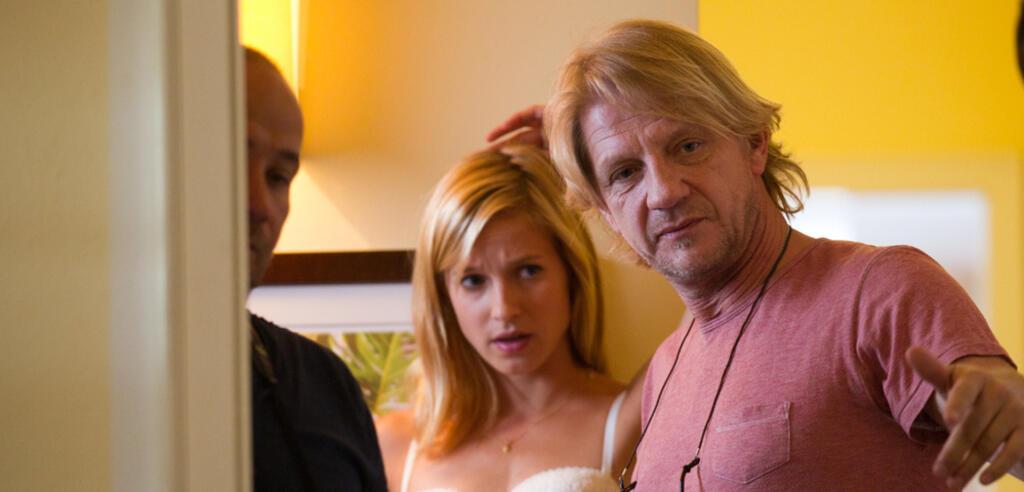 Sönke Wortmann am Set von Das Hochzeitsvideo