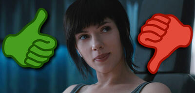 Ghost in the Shell mit Scarlett Johansson