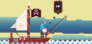 Bild zu:  Rami Ismails Ridiculous Fishing im charmanten Pixel-Look