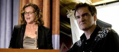 Sally Menke und Quentin Tarantino
