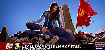 Der Tod von Superman in Crisis