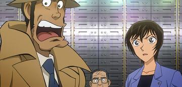 Inspektor Zenigata (links) und Sato (rechts)