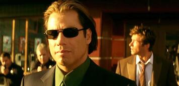 Bild zu:  John Travolta und Hugh Jackman in Passwort: Swordfish