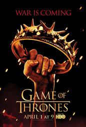 Game of Thrones Staffel 2 - Poster
