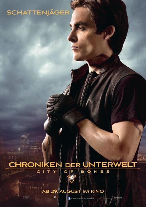 Chroniken der Unterwelt - City of Bones mit Kevin Zegers