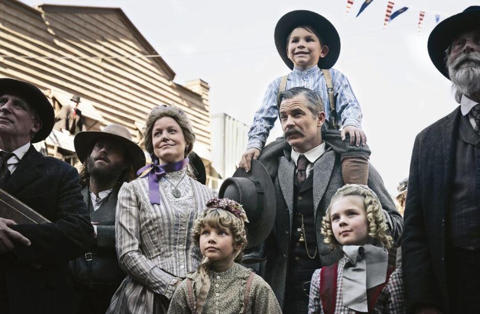 Deadwood mit Timothy Olyphant und Anna Gunn
