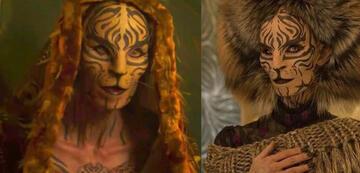 Tribute von Panem-Rückkehrerin: Tigris (hier in Mockingjay 2)