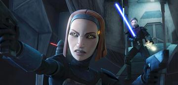 Bo-Katan Kryze in The Clone Wars
