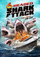 6-Headed Shark Attack - Poster