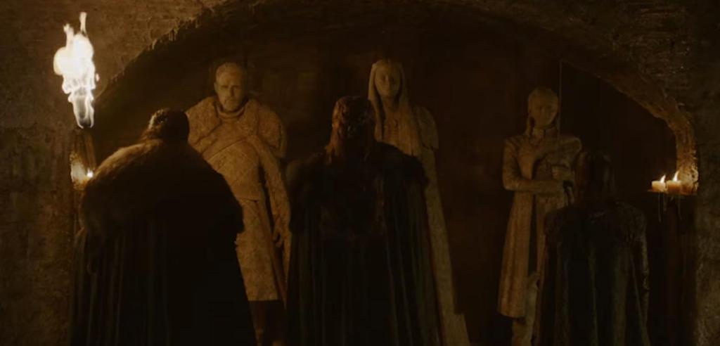 Liegen alle verstorbenen Starks in der Krypta?