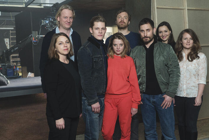 Kidnapping Stella mit Jella Haase, Max von der Groeben, Clemens Schick, Henning Ferber, Verena Schilling und Thomas Sieben
