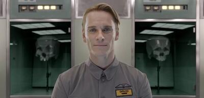 Michael Fassbender als Android David